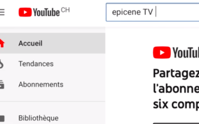 Youtube ÉPICÈNE TV